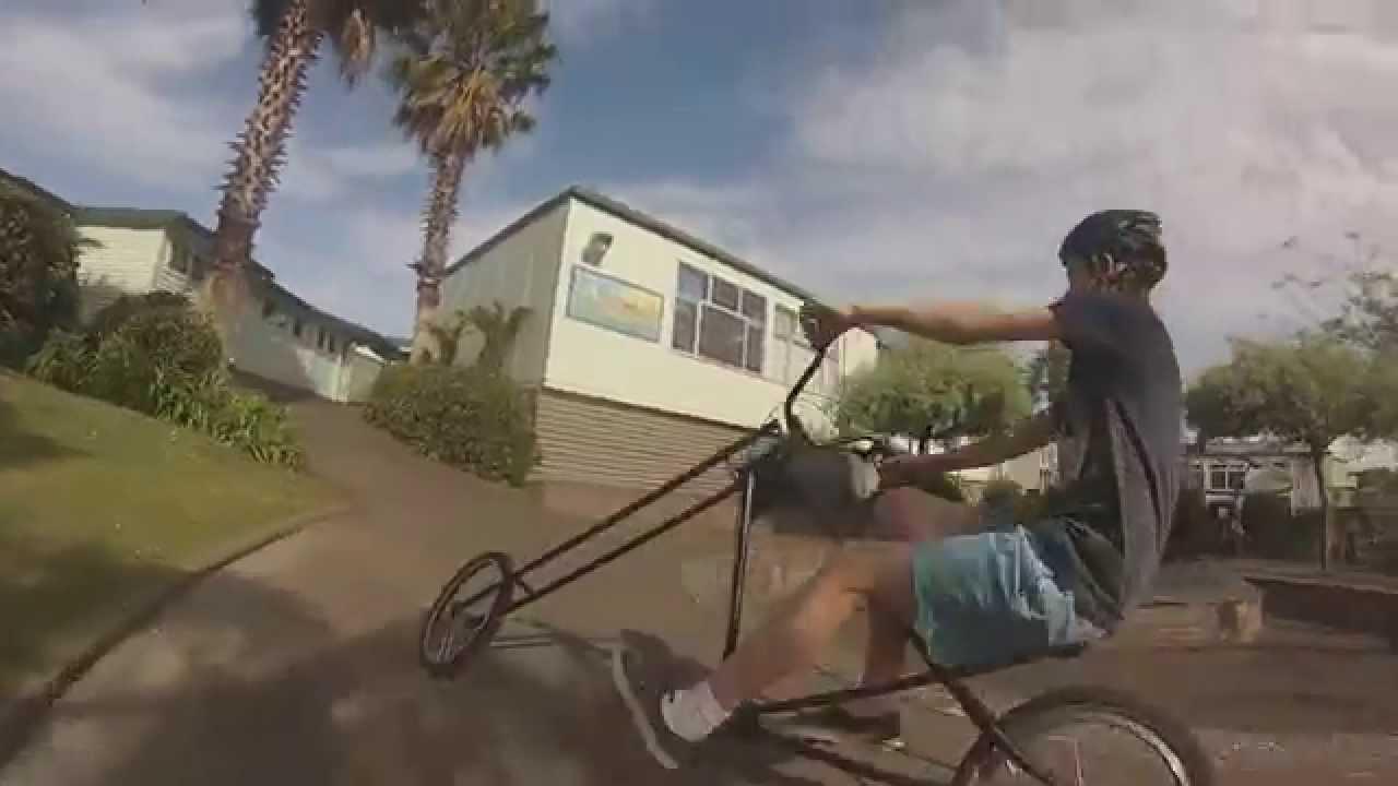 Homemade Chopper Bicycle