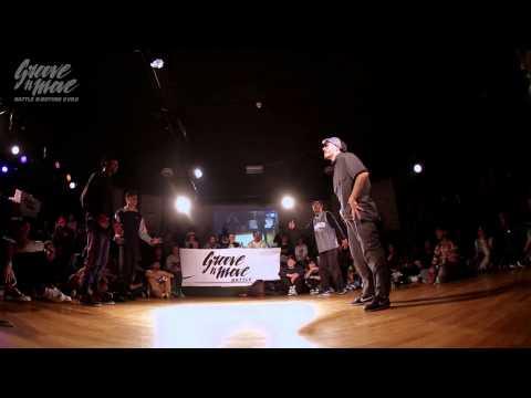 GROOVE'N'MOVE B-BOYING BATTLE 2015 - Semi-Final / Walk Alone vs Funk Fockers