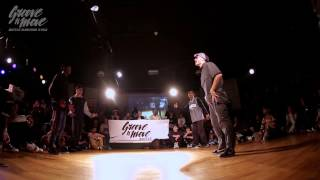 GROOVE'N'MOVE B-BOYING BATTLE 2015 - Semi-Final / Walk Alone vs Funk Fockers