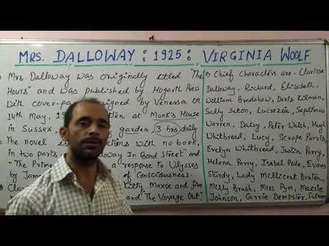 Lt Grade/ UGC - Mrs Dalloway: Woolf : Shivam Dubey at English Kingdom, Katra Allahabad (9369542072)