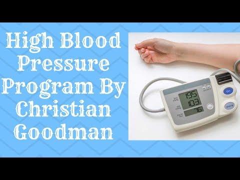 High Blood Pressure Program By Christian Goodman - High Blood Pressure Program Review
