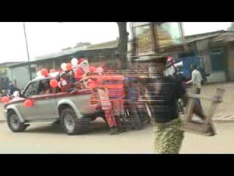Preparatifs Puis Caravane de distribution des cadeaux dans la ville de Lome