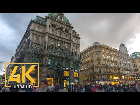 Vienna, Austria - 4K Documentary Film - No Music Only City Sounds - Top European Cities