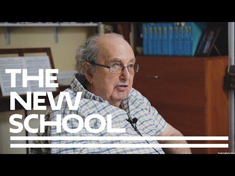 The New School's Mannes School of Music - Centennial Reflections: Carl Schachter