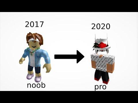 My Roblox Avatar Evolution Hd Youtube