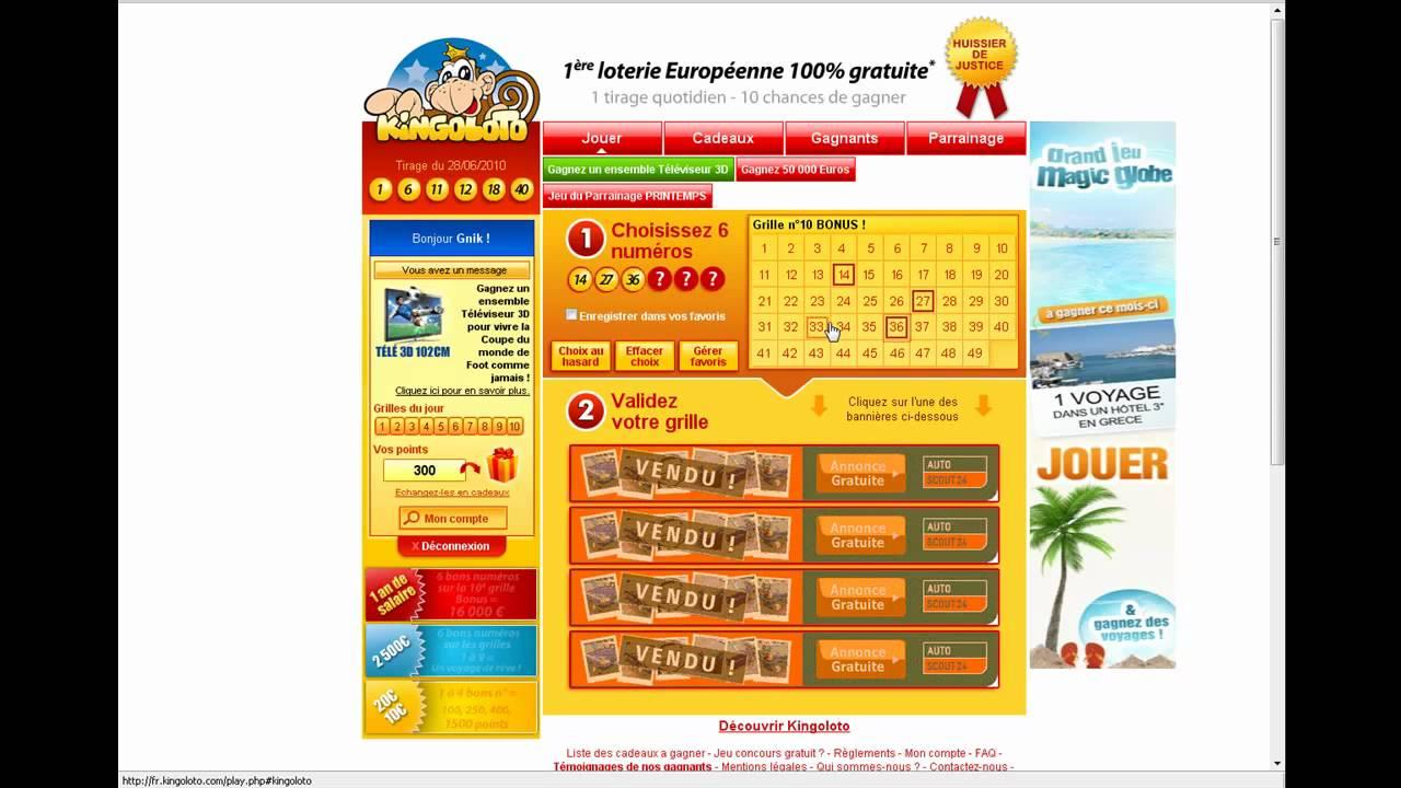 Kingoloto jeux en ligne gratuits pour gagner des cadeaux - Jeux de cuisine a telecharger gratuit ...