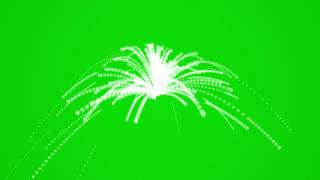 Green Screen Animation Firework Fountain...