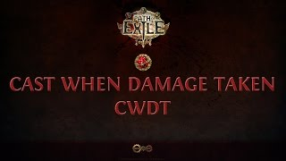Path Of Exile FR | TUTO | On analyse la gem Cast When Damage Taken