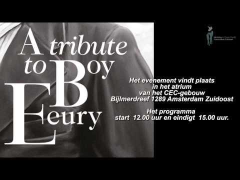 Bevrijdingsdag Amsterdam Zuidoost  A tribute to Boy Ecury