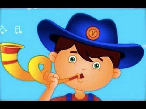 Little Boy Blue Nursery Rhymes   Cartoon Animation Songs For Children