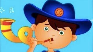 Çocuklar İçin Mavi Çocuk Tekerlemeler | Çizgi Film Animasyon Şarkı