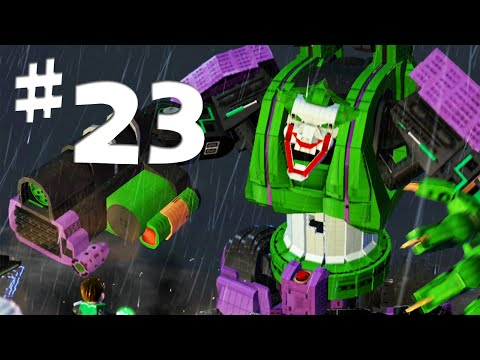Road To Arkham Knight - Lego Batman 2 Gameplay Walkthrough Part 23 - Giant Joker Robot