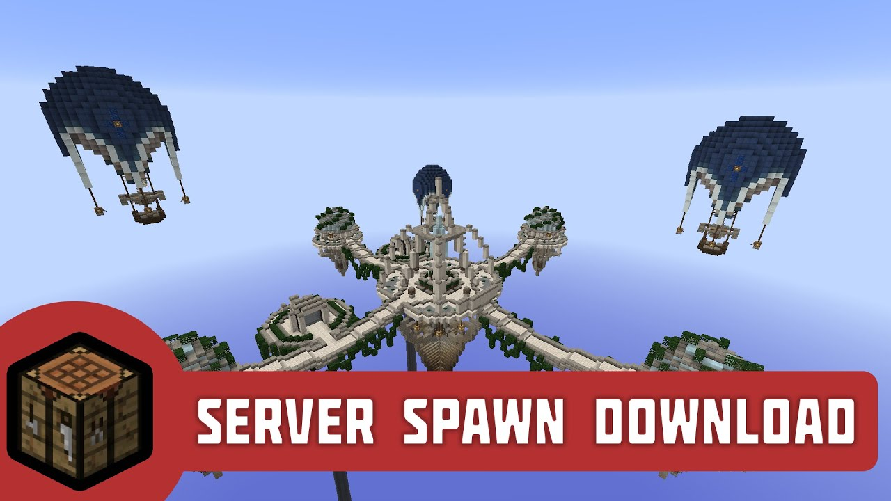 Minecraft server spawn download 1 floating islands youtube gumiabroncs
