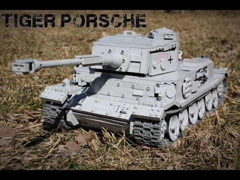 Lego Tiger Porsche Heavy Tank Rc Youtube