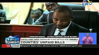 Counties' unpaid bills: Only Baringo county has fully settled its debts