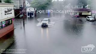 09-18-18 Quincy, Ma - Flash Flooding Stranded Cars