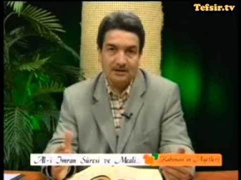 Ali İmran Suresi Kuran Tefsiri 1-6 Ayetler Prof.Dr. Şadi Eren