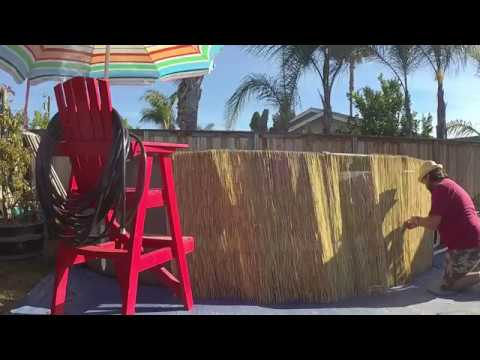 Dress Up Your Above Ground Pool | Tiki Intex Pool