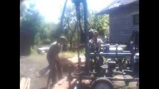 буровая установка малогабаритная,гидравлическая буровая установка,бензиновая буровая бурение камня(, 2015-05-27T22:21:54.000Z)