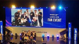 [ Fancam ] 181111 Wanna One @Moment | Fan Event 워너원