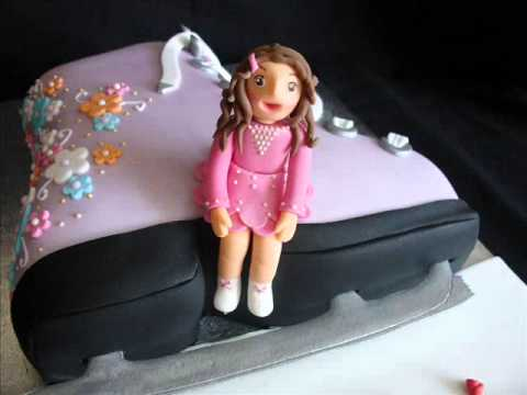 Need Ideas For Ice Skating Cake