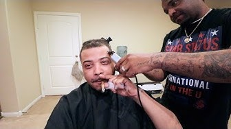 This Barber Pushed My Hair Line Back | DJ Ghost VLOG