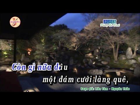 Karaoke | Sự tích cây uyên ương | Trần Dã - Cẩm Giang