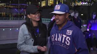 Sterling Shepard and Chanel Iman Out on the Town