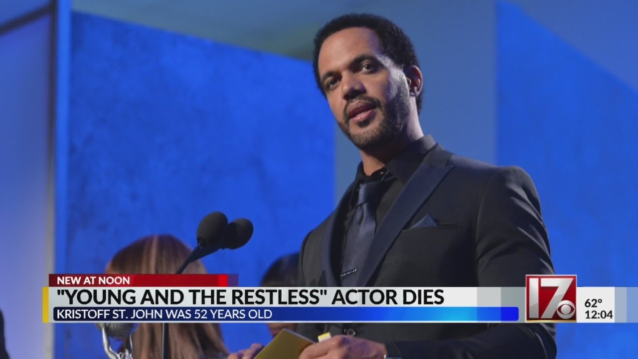 'Young & Restless' actor Kristoff St  John dead at 52, reports say
