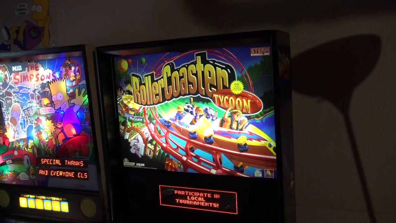 Download Roller Coaster Tycoon Pinball 1 Credit Game