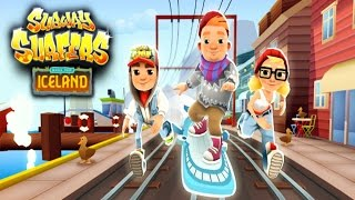Subway Surfers: Iceland Android Gameplay