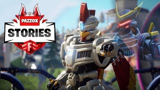 LE ORIGINI DI SENTINELLA 🎬 FILM 🎬  Fortnite Stories Pazzox