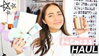 Health and Fitness Haul | How to Make Getting Healthy Fun