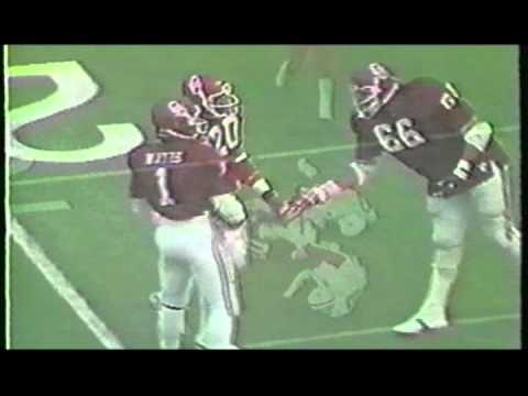 Billy Sims 1977 & 1978 Eye Test HEISMAN OKLAHOMA