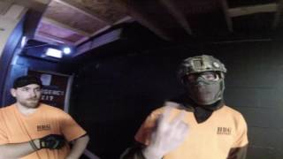 AIRSOFT REF PULLS GUN on ME and CrackerJack gets LOCKED OUT!!