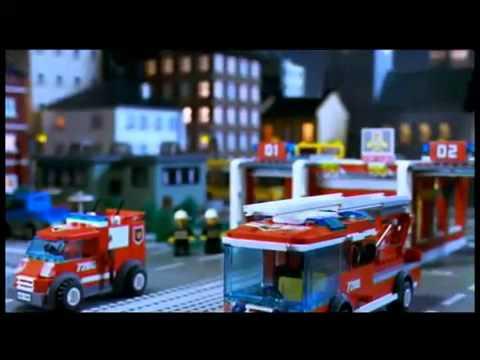 Lego City 7208 Remiza Strażacka Whoosh Allegro Reklama Tv