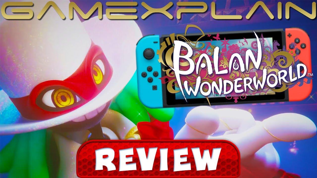 Balan Wonderworld - REVIEW (Nintendo Switch) (Video Game Video Review)