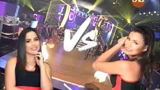 """¡Ericka Roca vs Daniela Suárez en """"Guerra De Gallos""""! #LaPreviaDeBailando"""