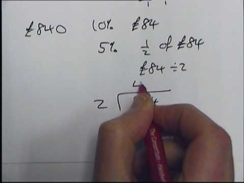 How To Work Out Percentages Without Calculator Part Wmv