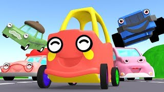 Baby car | car song | Monster Trucks boom boom - baby song - Songs for Children