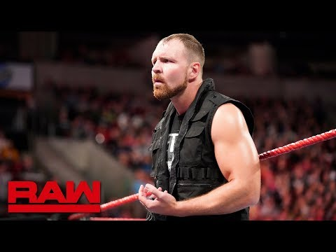 Dean Ambrose's Shield Loyalty Comes Into Question: Raw, Oct. 1, 2018