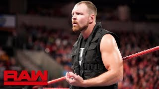 Dean Ambrose's Shield loyalty comes into question: Raw, Oct. 1, 2018 thumbnail