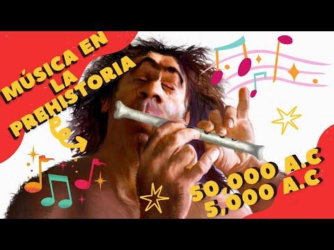 MÚSICA EN LA PREHISTORIA (50.000 a.C - 5.000 a.C) | Historia de la Música