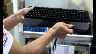 AULA Dragon Tooth 3 Color Backlit LED Illuminated Gaming Keyboard Wired Best