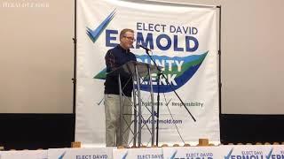 David Ermold challenges Kim Davis