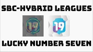 Pacybits 19 Sbc Hybrid Leagues Lucky Number Seven