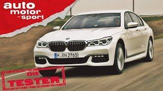 BMW 750d: Weißwurst-Bomber greift an  - Die Tester (Review/Test)| auto motor und sport