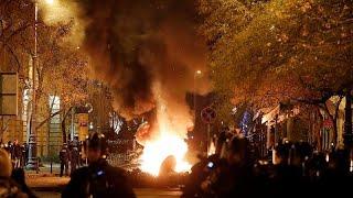 """بودابست تتظاهر ضدّ """"قانون العبودية"""" ومن أجل استقلالية القضاء…"""