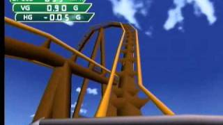 Coaster Works Dreamcast Gameplay: Crazy Coasters