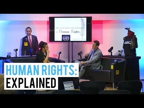 WHAT ARE HUMAN RIGHTS?: EXPLAINED